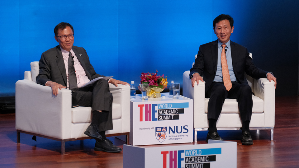 Times Higher Education World Academic Summit 2018 : In conversation with Mr Ong Ye Kung, Minister for Education, Singapore