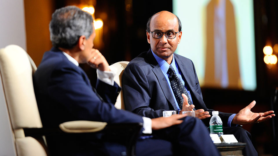 Conversation with Deputy Prime Minister and Finance Minister Tharman Shanmugaratnam