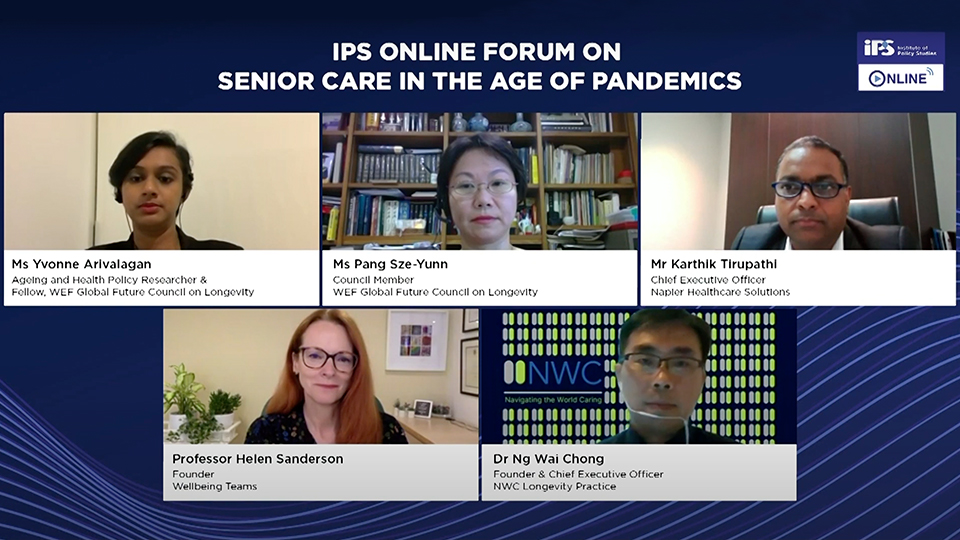 IPS Online Forum on Senior Care in the Age of Pandemics